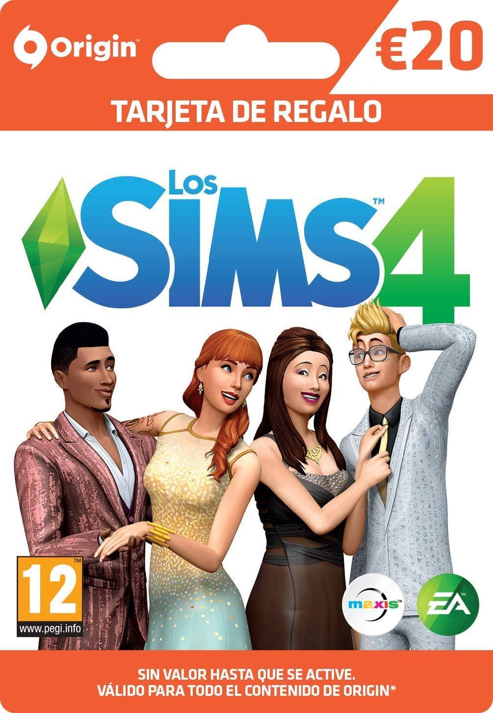 The Sims | Tarjeta de Regalo - €20 | Código Origin para PC y Mac ...