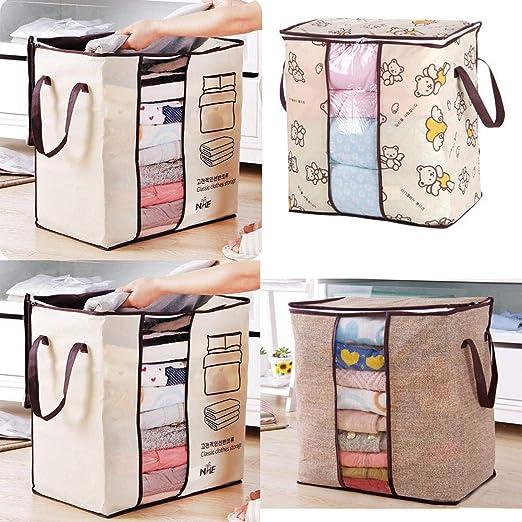Voiks Organizadores de Viaje para Maletas, Bolsas de Equipaje Impermeable Cubos Embalaje de Viaje Bolsas de Almacenamiento para Ropa Zapatos, ...