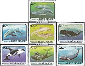 Prophila Collection Guinea-Bissau Michel.-No.. Calcio Francobolli per i Collezionisti 1370-1378 2001 Calcio-WM 2002