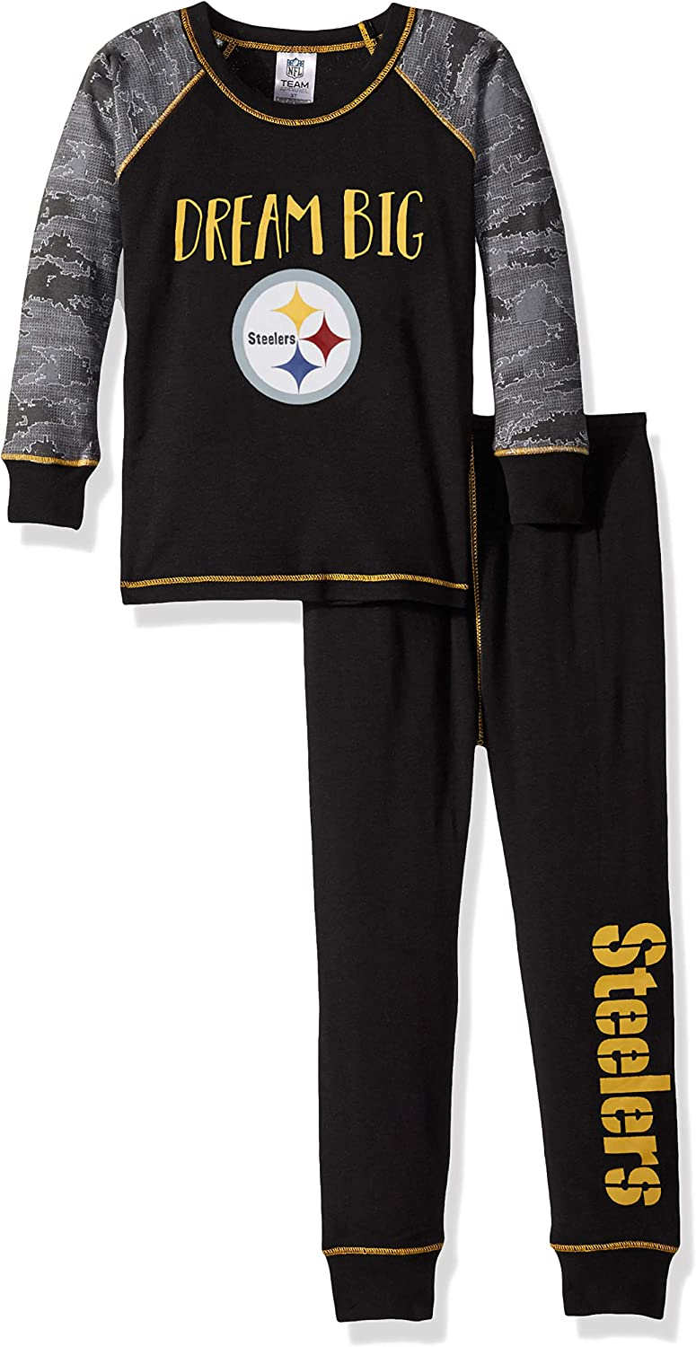 NFL Unisex-Child 2 Piece Pajama Set