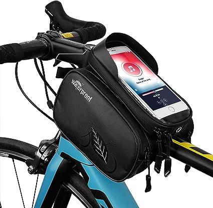 TAKEBEST Bolsas de Bicicleta, Bolsa Impermeable para Bicicleta ...