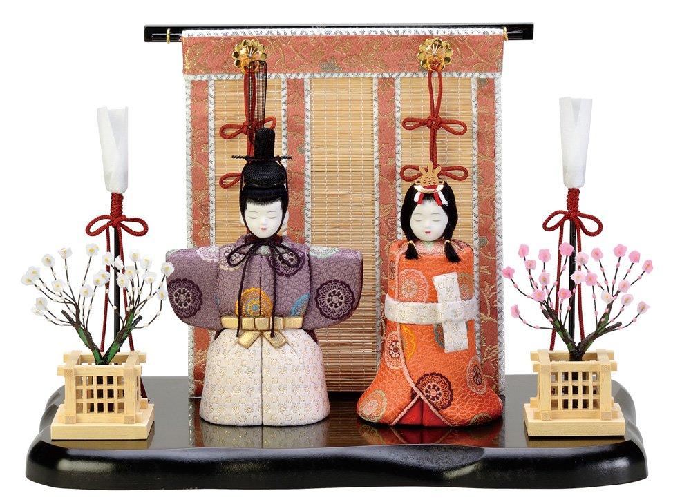 光彩立雛 木目込み雛人形 材料セット(手芸材料人形キット)   B019O8V0L6