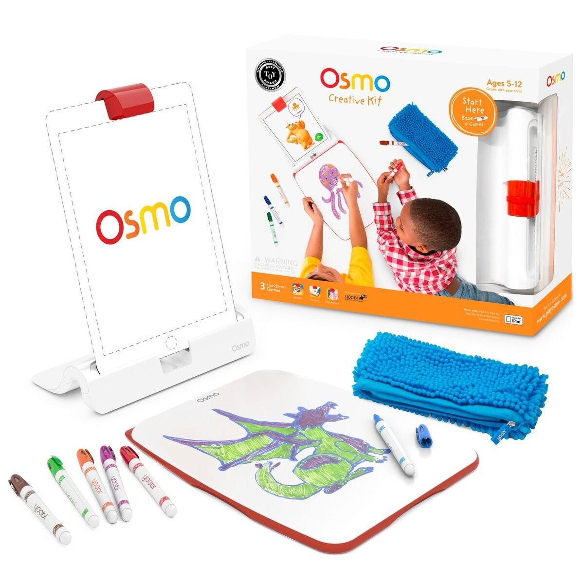 Osmo Creative Kit with Monster Game (Ipad Base Included) by Osmo (Image #6)