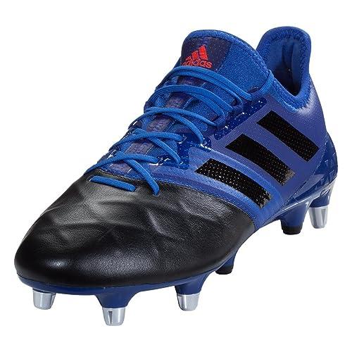 best service fe528 23693 adidas Kakari Light SG Rugby Boots, Blue, US 12