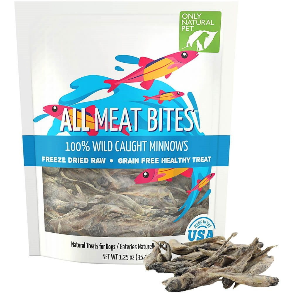Only Natural Pet All Meat Bites Minnows 1.25 oz