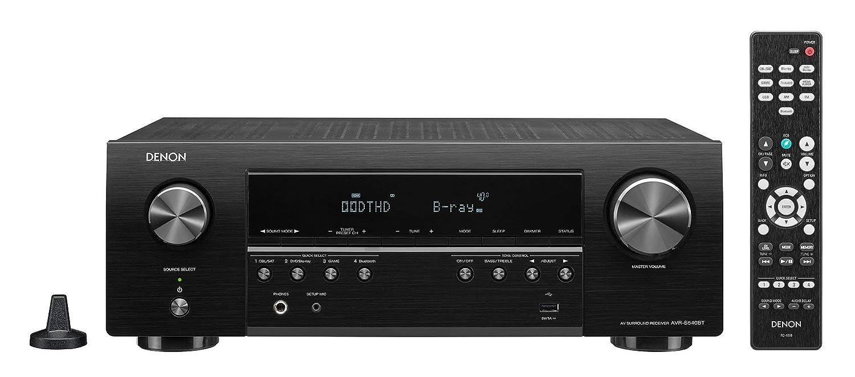 Denon AV Receiver Audio & Video Component Black (AVRS540BT) (Certified Refurbished)