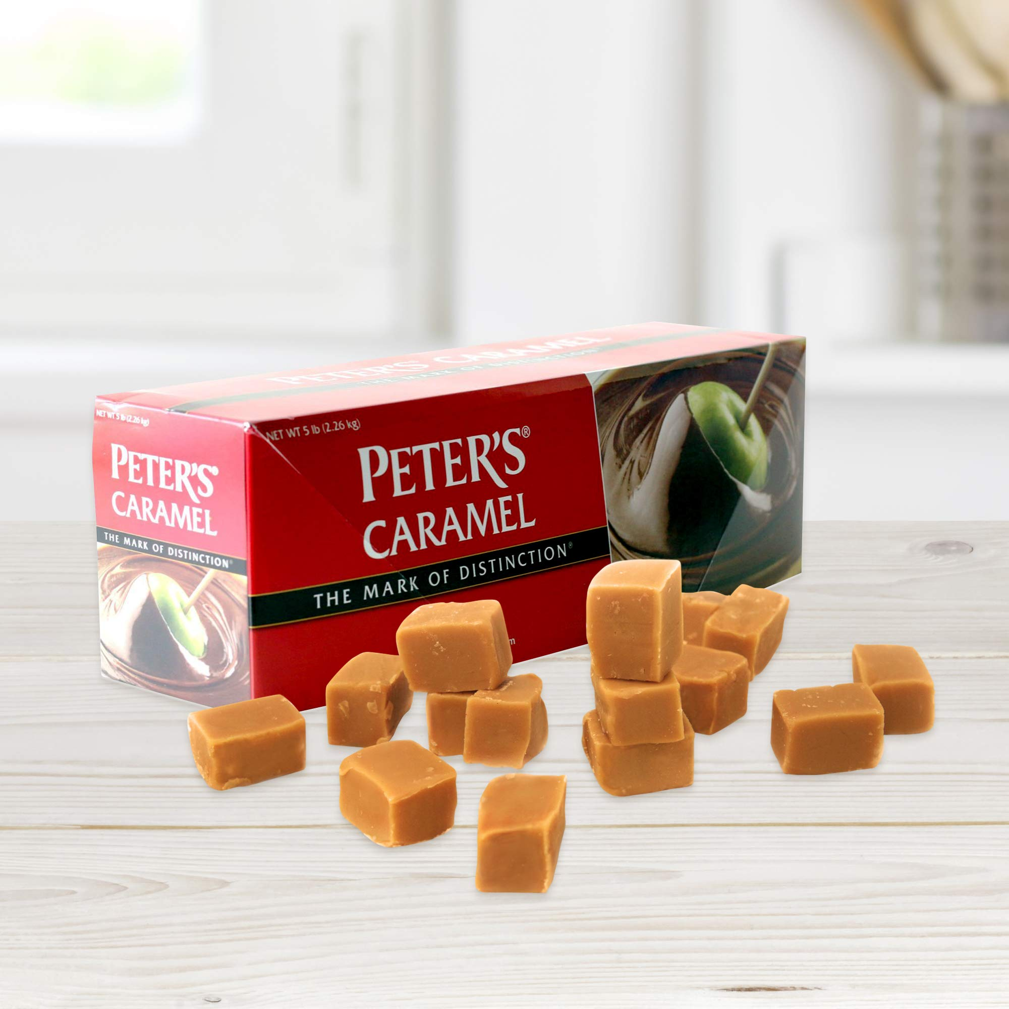 Peter's Creamy Caramel, 5 Lb. Block (Pack of 4) by Peters (Image #3)
