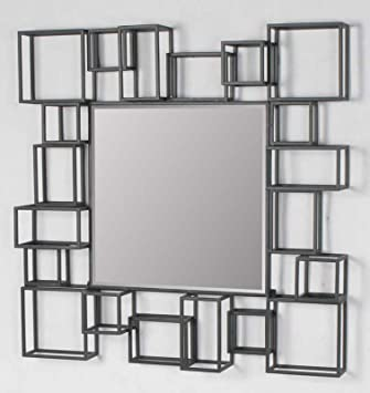 Amazoncom Large modern geometric square decorative art dcor