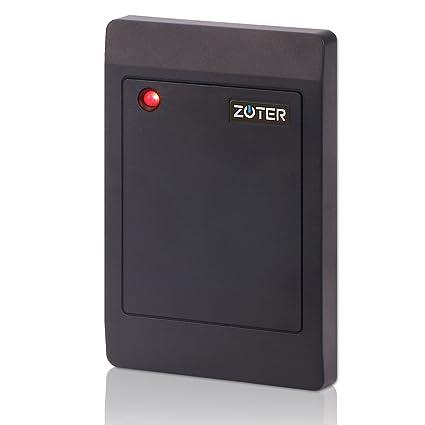 Zoter® Lector impermeable IP65 Wiegand 26 de tarjetas IC RFID de 13,56