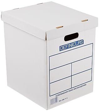 Definiclas 96715 - Contenedor archivador de palanca: Amazon.es: Oficina y papelería