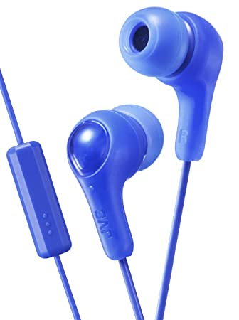 6d1a547cd72 JVC Gumy Plus In Ear Headphones Earphones with Bass Boost, Comfortable  Earbuds and Built In