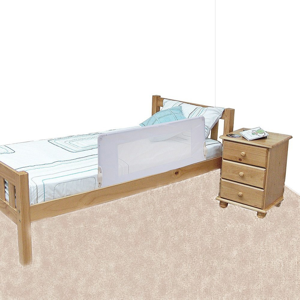 Safetots Bed Rail White Amazoncouk Baby