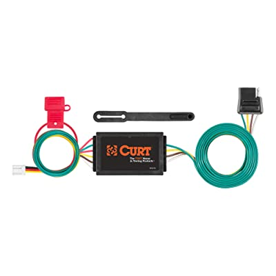 CURT 56338 Vehicle-Side Custom 4-Pin Trailer Wiring Harness for Select Mazda CX-9: Automotive