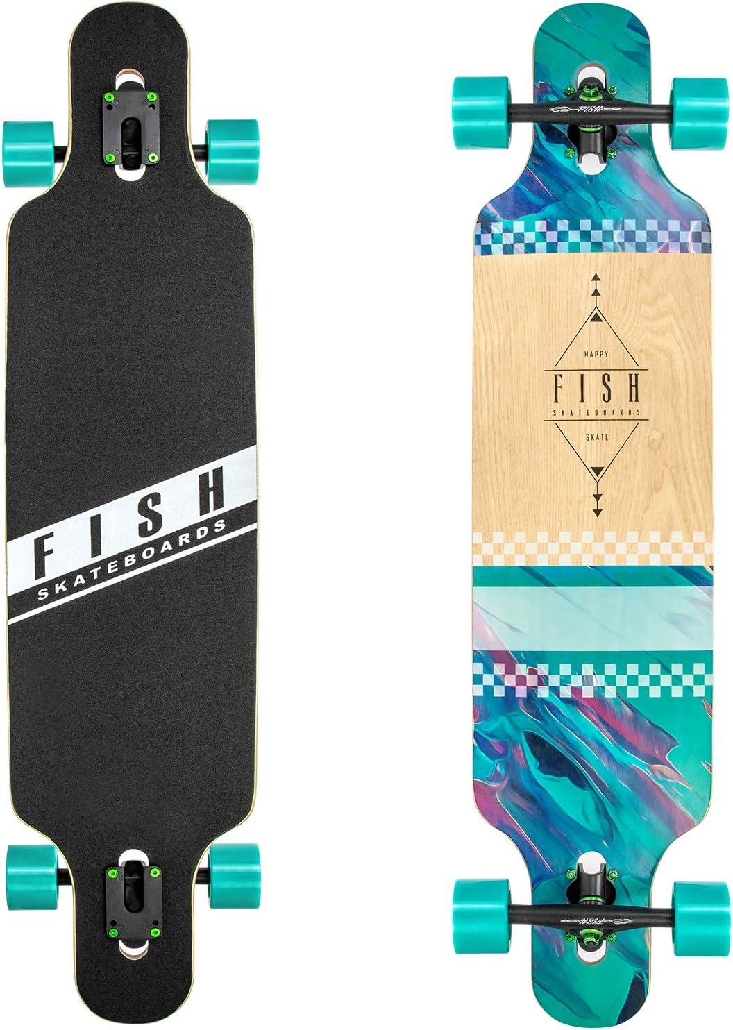Fish Skateboards Downhill Longboard