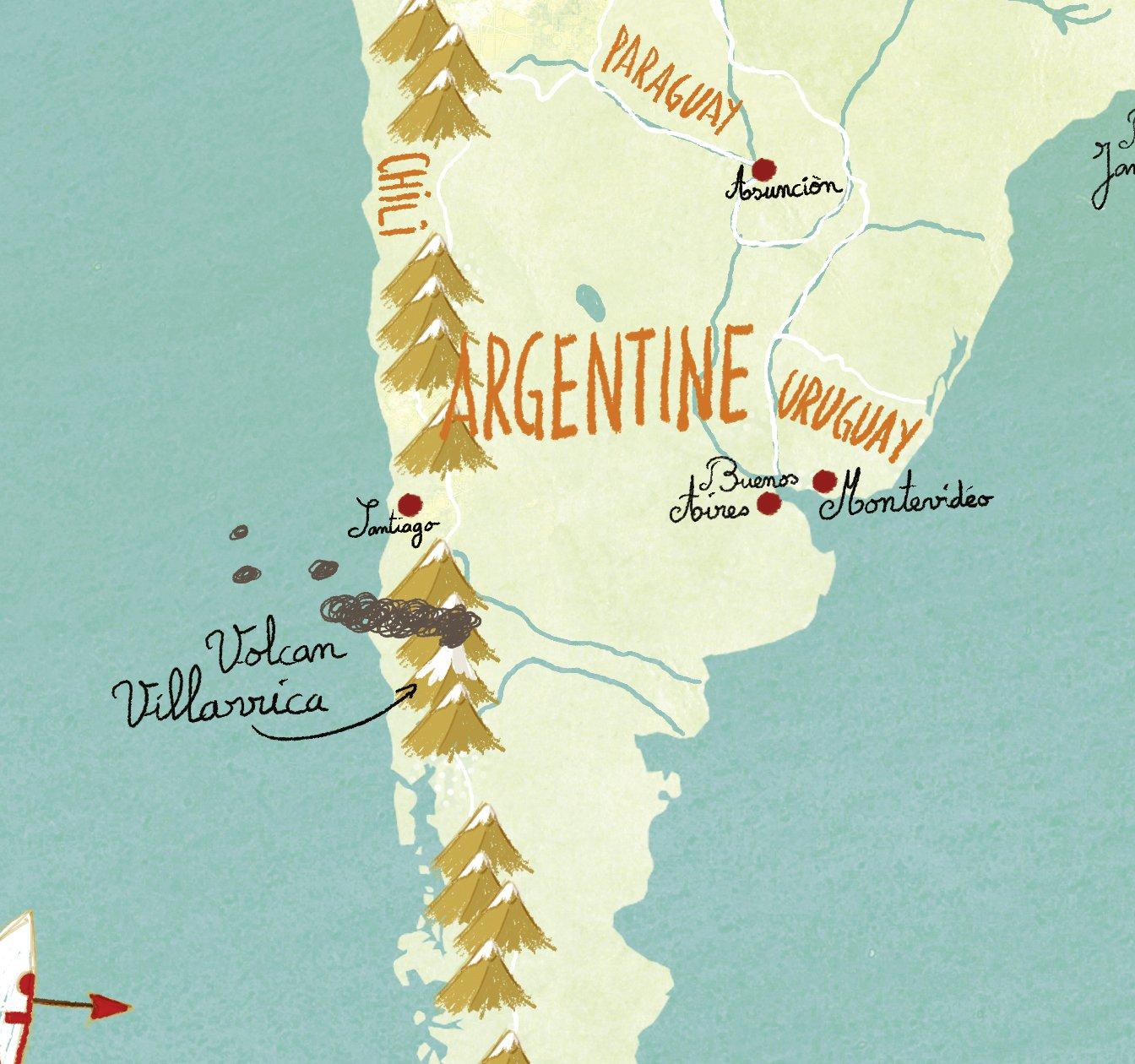 Vilac - Puzzle Mapa del Mundo. Fantástico magnético (2720): Amazon.es: Juguetes y juegos