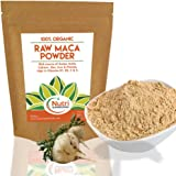 Maca Root Powder, Raw Organic Premium Vegan Superfood, Promotes Fertility for Men & Women, Balances Hormones, Mood Swings, Menopause, Improves Stamina, Reduces Stress & Anxiety - (250g)