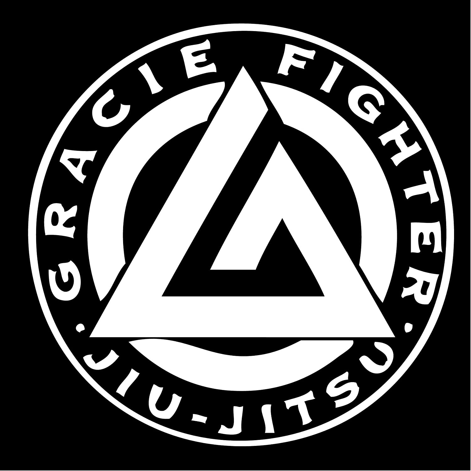 "Gracie Jiu-Jitsu Academy Decal /""Sticker/"" for Car or Truck or Laptop"