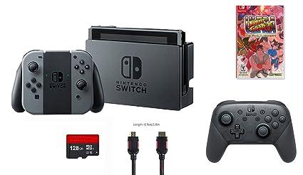 Amazon Com Nintendo Switch 6 Items Bundle Nintendo Switch 32gb