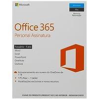 Office 365 - Personal 12 Meses De Assinatura 1 Pessoa - PC