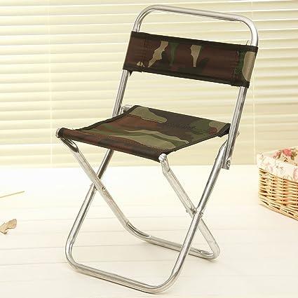 LongYu sillas Plegables Classic Camo Respaldo Taburete de ...