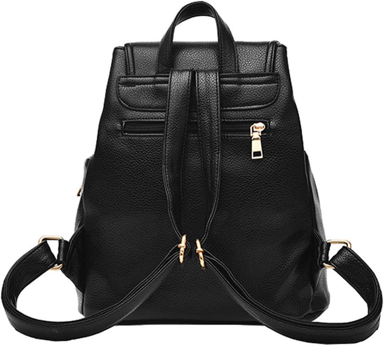PU Bagpack Mochila Feminina Rucksack backpack female fashion travel bag,Burgundy