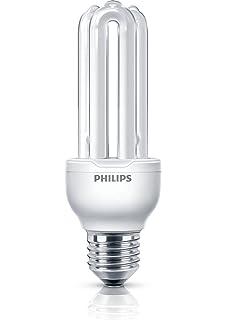 Philips Economy - Bombilla de tubo de bajo consumo (18 W, E27, De