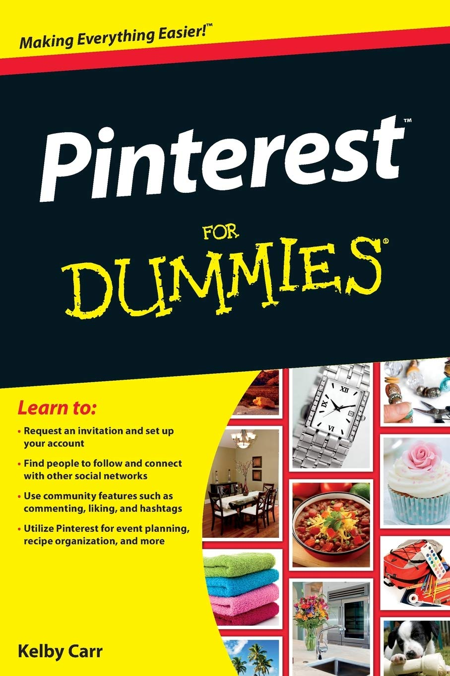 The Complete Idiots Guide to Pinterest Marketing (Idiots Guides)