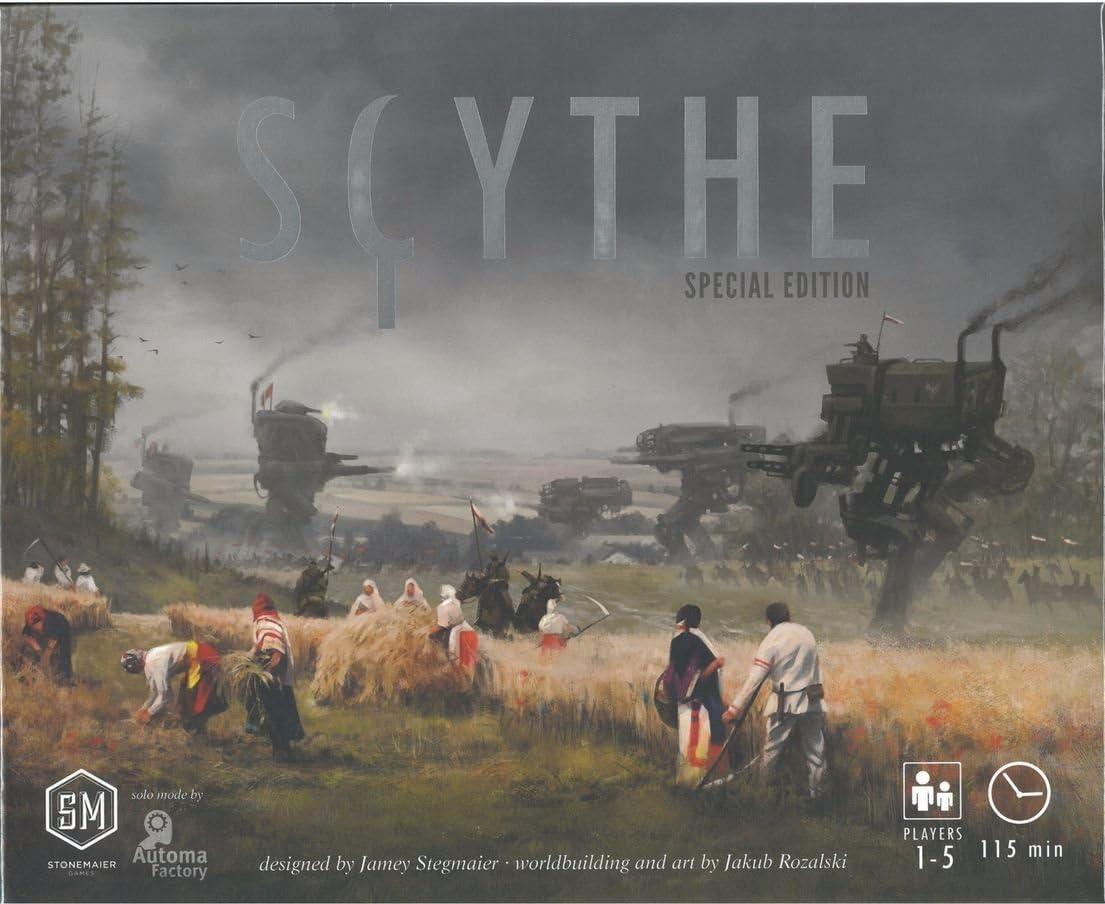 Scythe - Special Edition - Board Game - English - Kickstarter ...