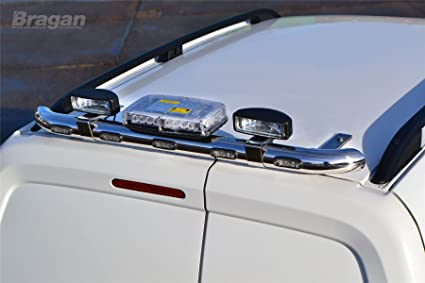 Roof Emergency Flashiing Beacon Light Bar REAR ROOF BAR PEUGEOT BIPPER VAN