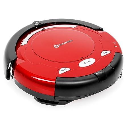 Klarstein Cleanfriend Robot aspirador rojo: Amazon.es: Hogar