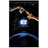 "E.T. the Extra-Terrestrial - 1982 - (24"" X 36"") Movie Poster"