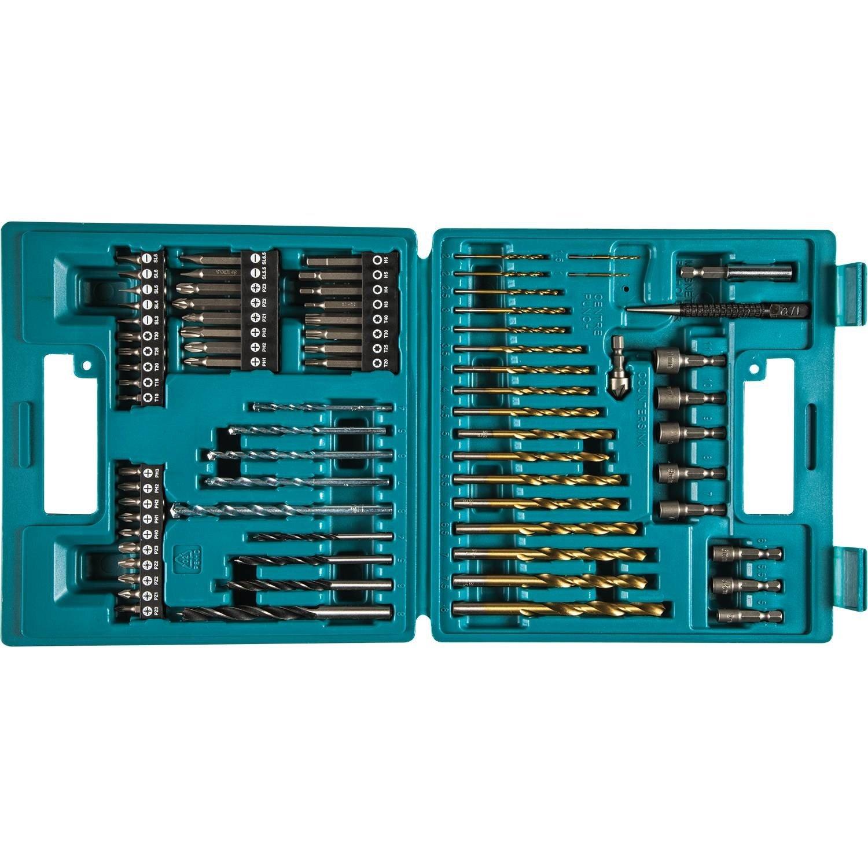 Makita B-49373 75 Pc. Metric Drill And Screw Bit Set by Makita