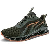 ALLCHAR - Zapatillas deportivas para hombre, transpirables, antideslizantes
