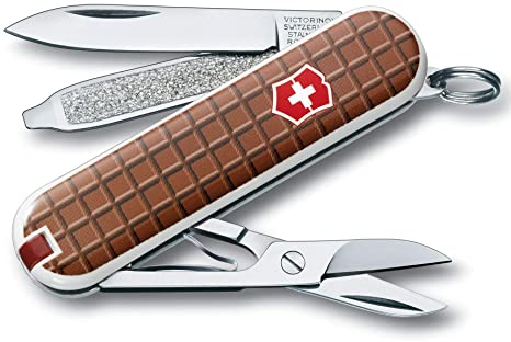 Victorinox V06223.842 Navaja Pequeña Classic SD, Chocolate, marrón, S