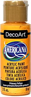 product image for DecoArt Americana Acrylic Paint, 2-Ounce, Primary Yellow
