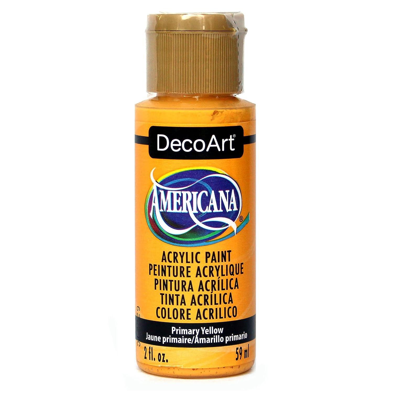 Deco Art Americana 2 oz Acrylic Multi-Purpose Paint, Primary Yellow DecoArt DA201-3