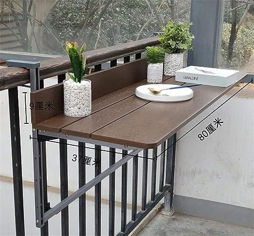 Altura ajustable Mesa colgante plegable, Mesa de cubierta plegable ...