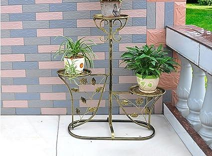 Lytsm scaffali da fiori in ferro soggiorno balcone interno e