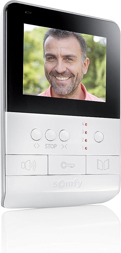 Somfy Moniteur suppl/émentaire pour V100 avec /écran 4 Pouces
