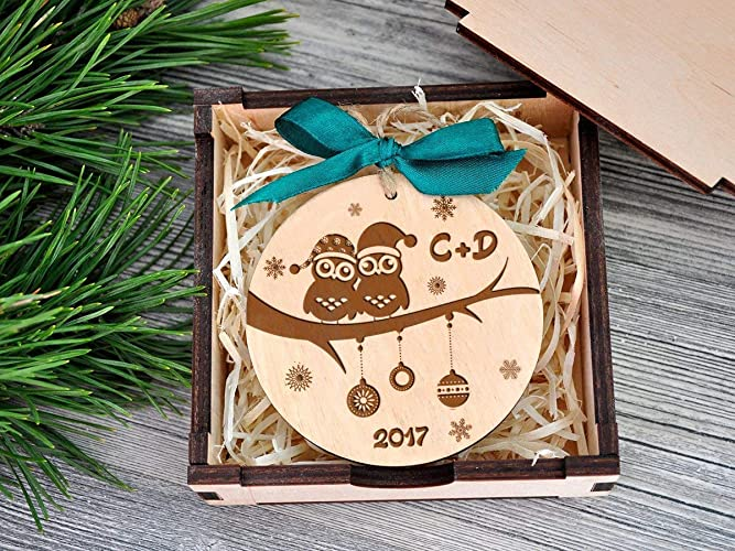 Custom Christmas Gifts.Amazon Com Personalized Christmas Ornaments Engraved