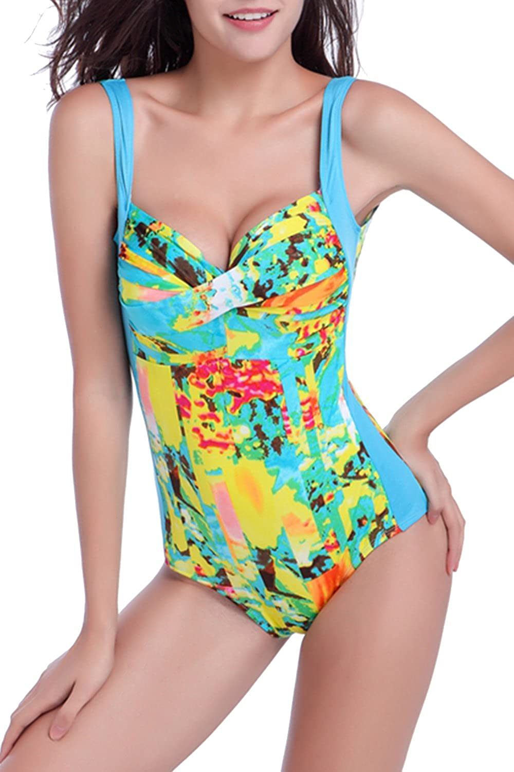 Women's Sexy Backless One Piece Swimsuit