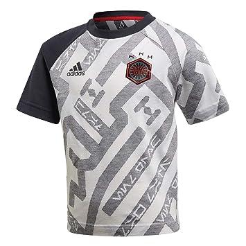 adidas T-Shirt à Manches Courtes pour garçon Disney Star Wars 1 M White  dac31a7ca26