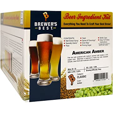 buy Brewer's Best American Amber Homebrew Beer Ingredient Kit