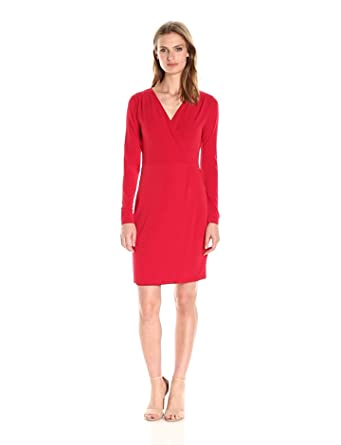 33e0f70c110 Amazon.com  French Connection Women s Slinky Wrap Dress  Clothing
