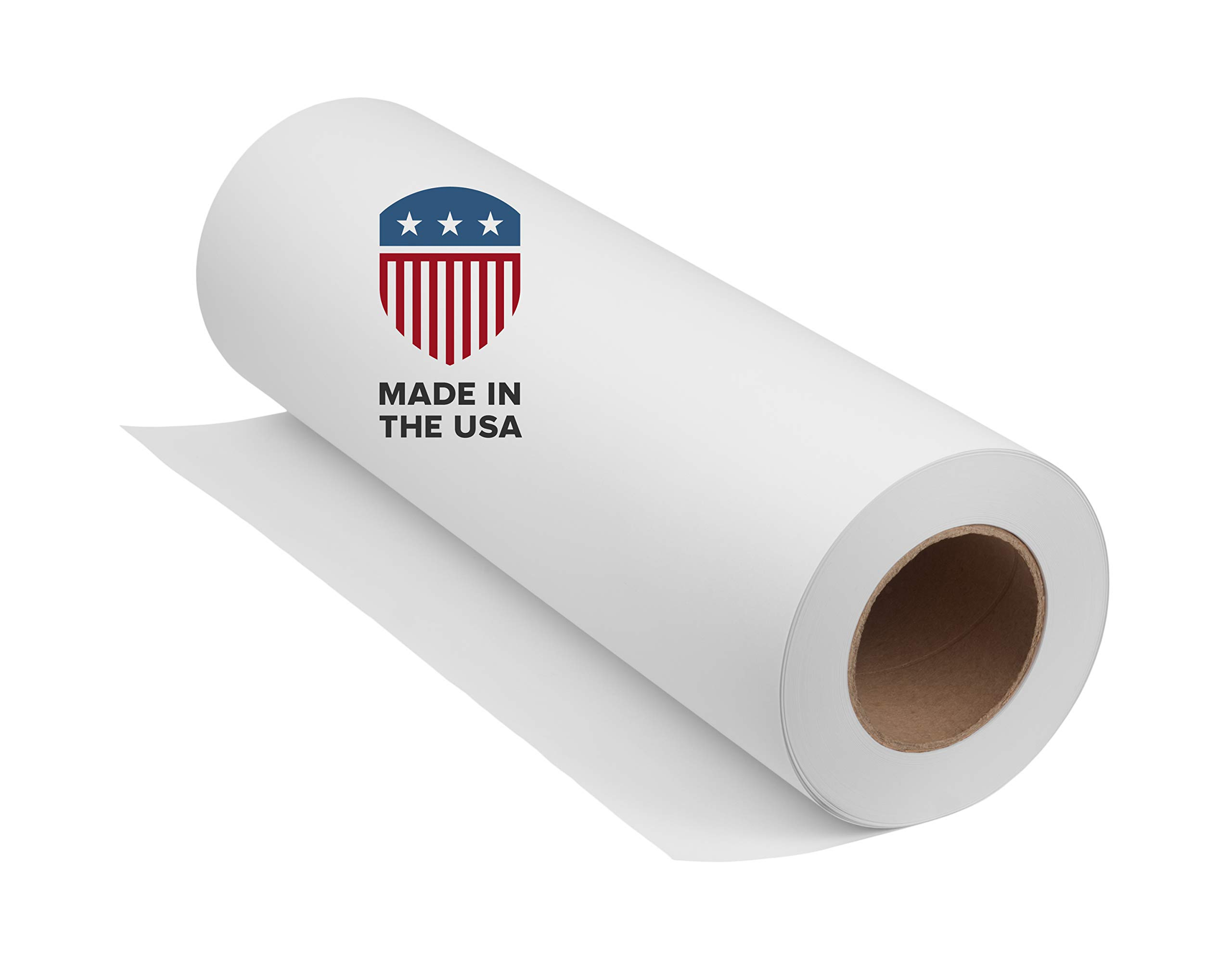 White Butcher Paper Kraft Roll: 36'' x 9720'' (810'), 40lb: USA Made, FDA Approved