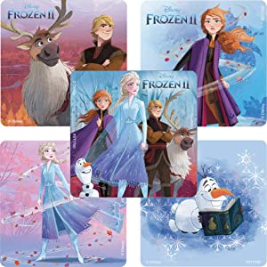 SmileMakers Frozen II Sketchbook Stickers - Prizes & Giveaways - 100 per Pack