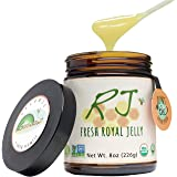 GREENBOW Organic Fresh Royal Jelly - 100% USDA Certified Organic, Pure, Gluten Free, Non-GMO Royal Jelly - One of The…