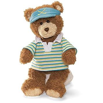 GUND Golfer Teddy Bear Soft Toy 28cm  Amazon.co.uk  Toys   Games 9c693d8a76
