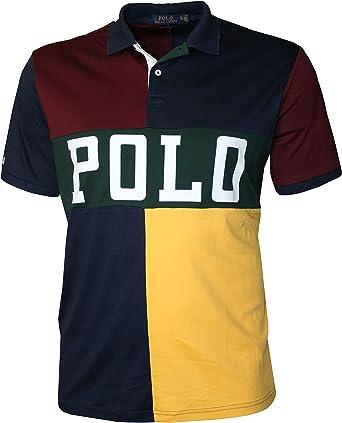 Polo Ralph Lauren - Camiseta deportiva para hombre - Multi color - Medium: Amazon.es: Ropa y accesorios