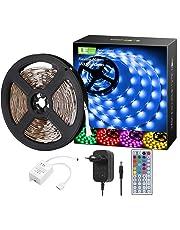 LE RGB LED Strip, Kunststoff + Kupfer, 24 W, 5M